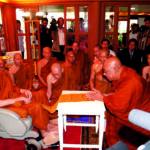 สมเด็จพระญาณสังวร สมเด็จพระสังฆราช สกลมหาสังฆปริณายก ทรงเป็นสมเด็จพระสังฆราชแห่งประเทศไทยพระองค์ที่สอง ที่ได้รับถวายสมณศักดิ์ที่อภิธชมหารัฏฐคุรุ อันเป็นสมณศักดิ์สูงสุดของเมียนมาร์