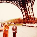 เสด็จเยือนหอไอเฟล กรุงปารีส วันที่ ๒๓ เมษายน ๒๕๒๓