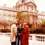 เสด็จเยือนพิพิธภัณฑ์ลูฟร์ กรุงปารีส ประเทศฝรั่งเศส ๒๓ เมษายน ๒๕๒๓
