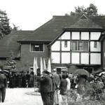 พิธีเปิดวัดพุทธปทีป ที่กรุงลอนดอน ประเทศอังกฤษ วันที่ ๑ สิงหาคม ๒๕๐๙