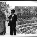 กรุงโรม ประเทศอิตาลี ในคราวเดินทางไปเปิดวัดพุทธปทีป ที่กรุงลอนดอน ประเทศอังกฤษ (แวะกรุงโรมวันที่ ๓-๔ สิงหาคม พ.ศ. ๒๕๐๙)